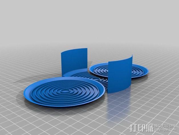饮料杯垫底座 3D模型  图8