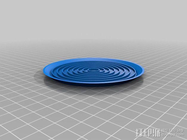 饮料杯垫底座 3D模型  图9