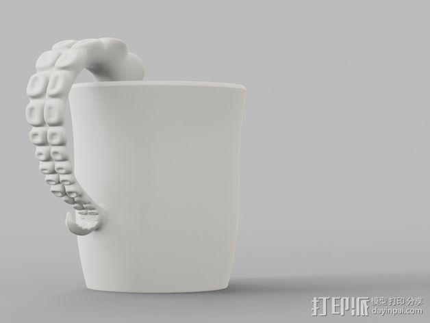 章鱼杯 3D模型  图5