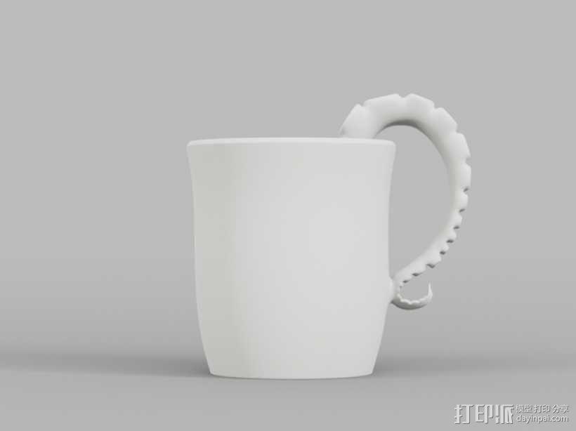 章鱼杯 3D模型  图7
