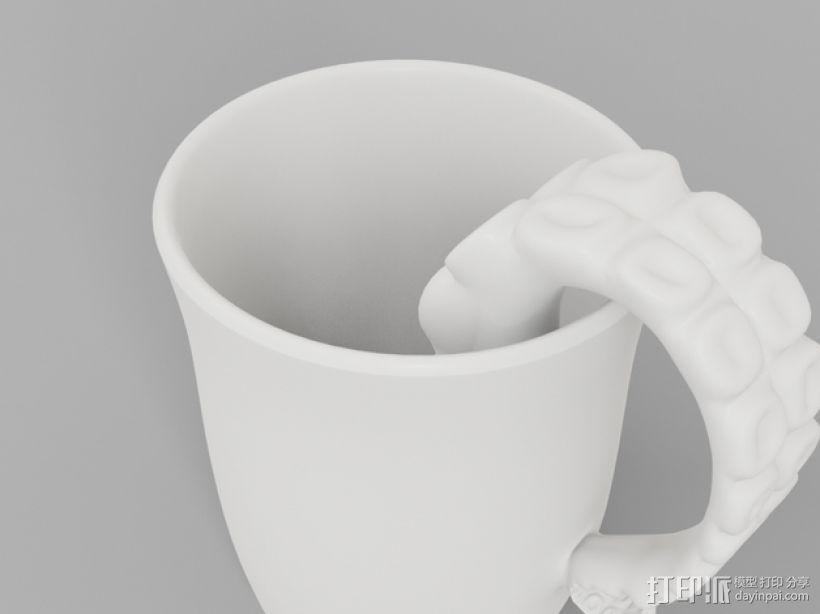 章鱼杯 3D模型  图6