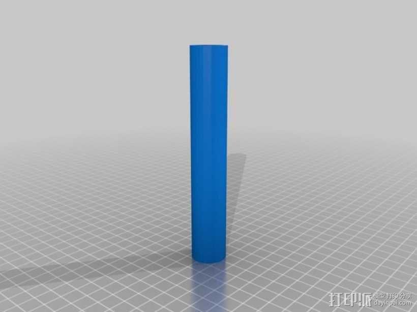 Ego 650 电子烟盒 3D模型  图1