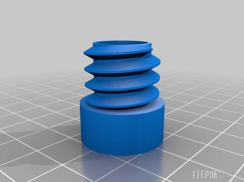 Ego 650 电子烟盒 3D模型  图2