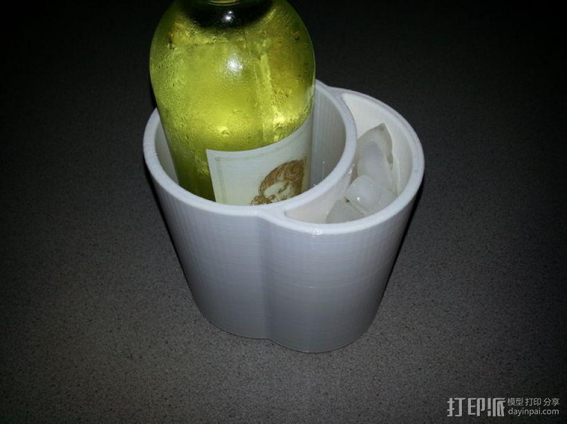 冷酒器 3D模型  图1