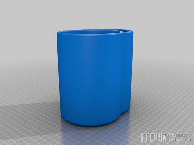 冷酒器 3D模型  图3