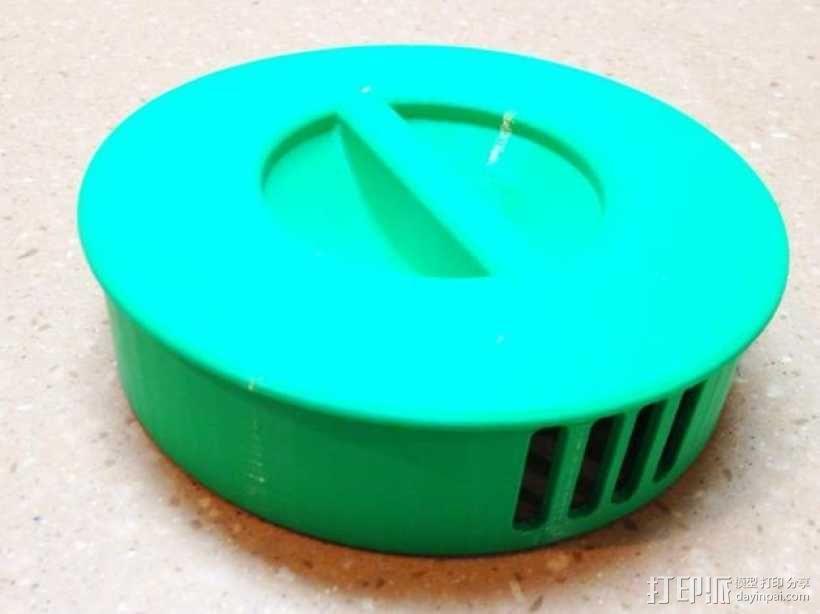 冰茶壶盖 3D模型  图4