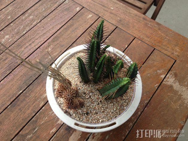 花坛支架 3D模型  图2