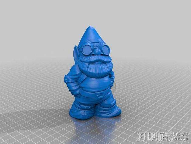 侏儒启瓶器 3D模型  图2