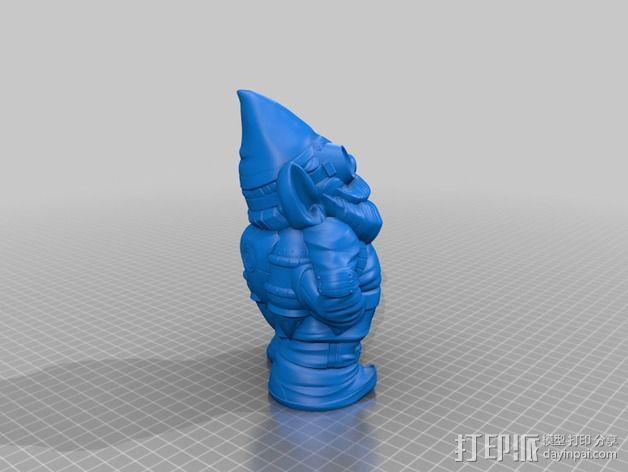 侏儒启瓶器 3D模型  图3