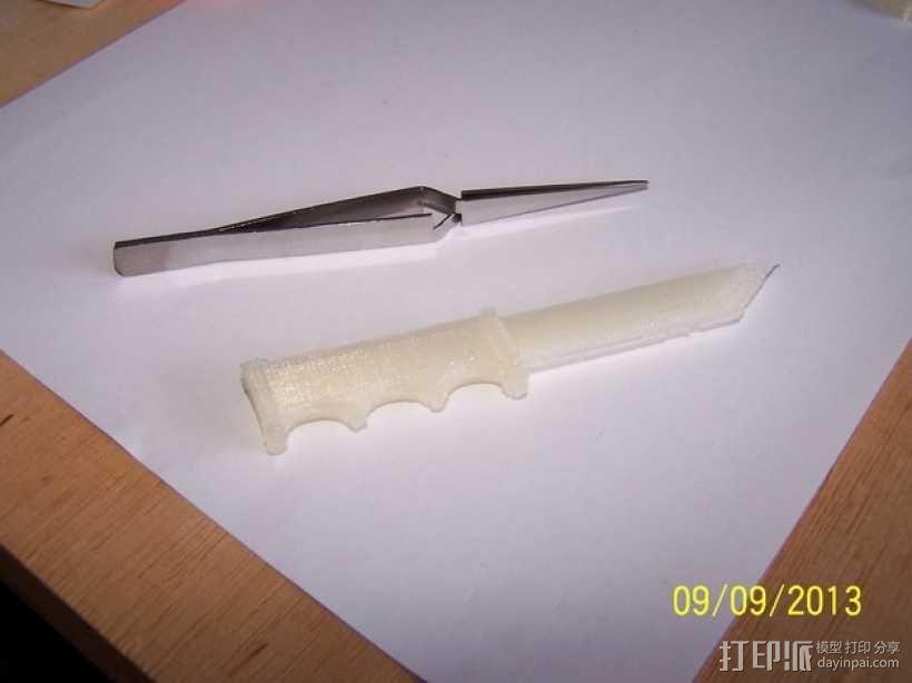 开信刀 3D模型  图1