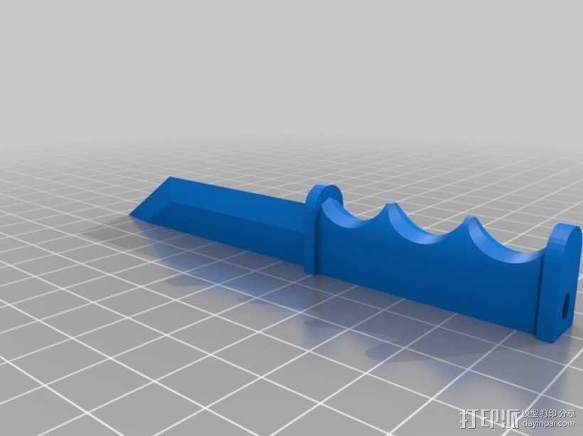 开信刀 3D模型  图2
