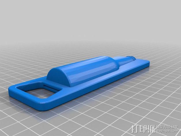 开瓶器 3D模型  图1