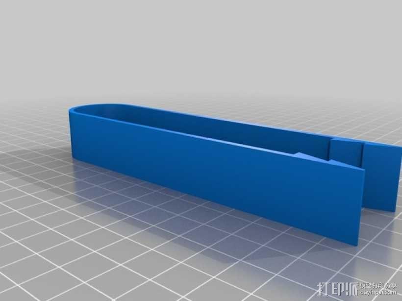 冰块/吐司面包钳 3D模型  图2