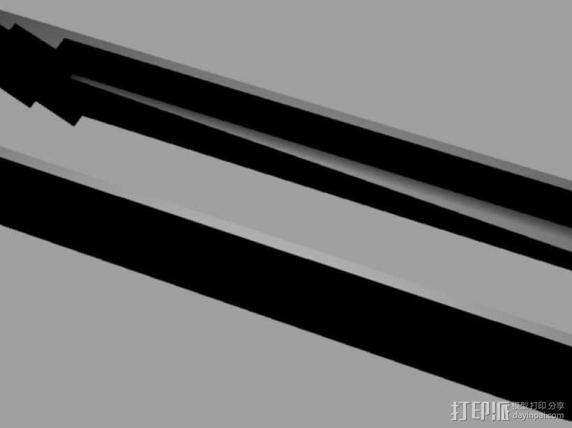 冰块/吐司面包钳 3D模型  图4