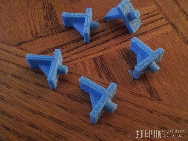 厨柜支撑架  3D模型  图1