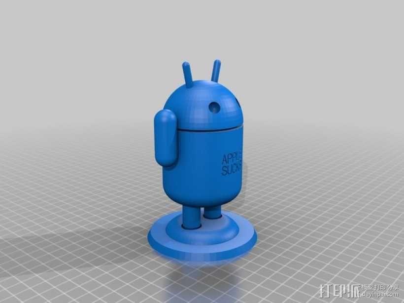 安卓机器人 3D模型  图1