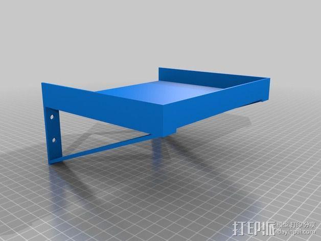 前卫的架子 3D模型  图4