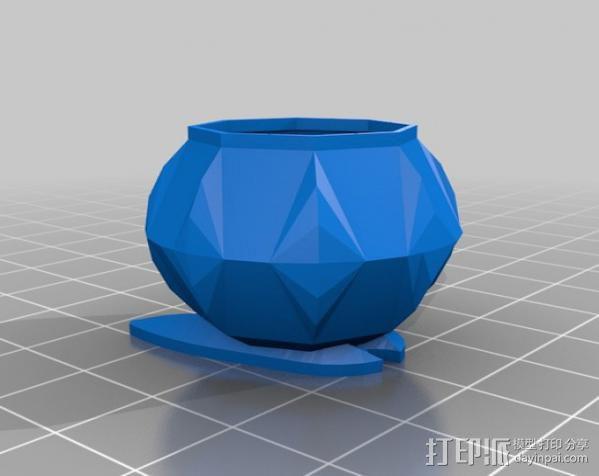电动牙刷盒 3D模型  图2