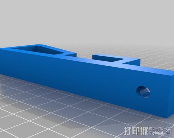 花盆固定夹 3D模型  图2