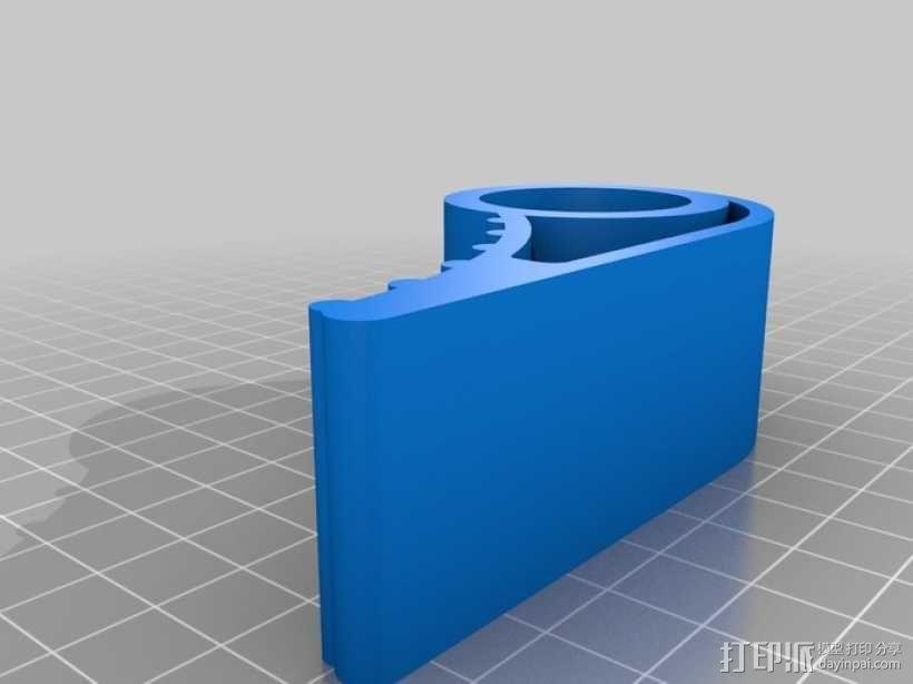 门档 3D模型  图2