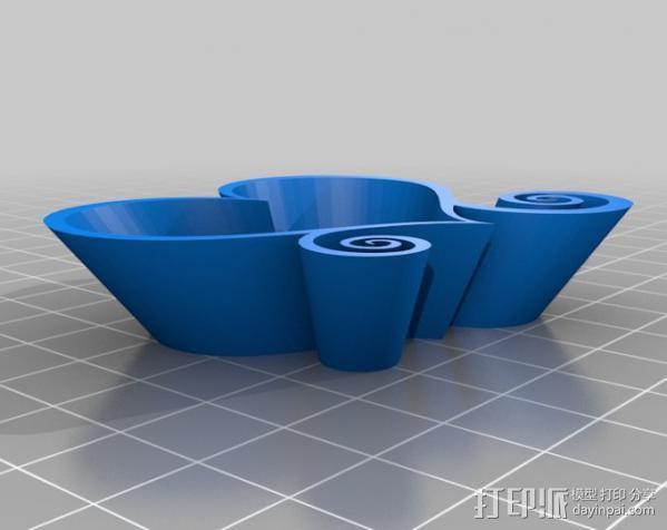爱心盒 3D模型  图2