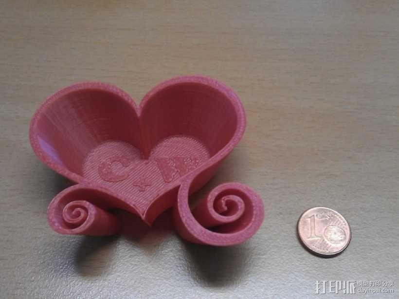 爱心盒 3D模型  图1