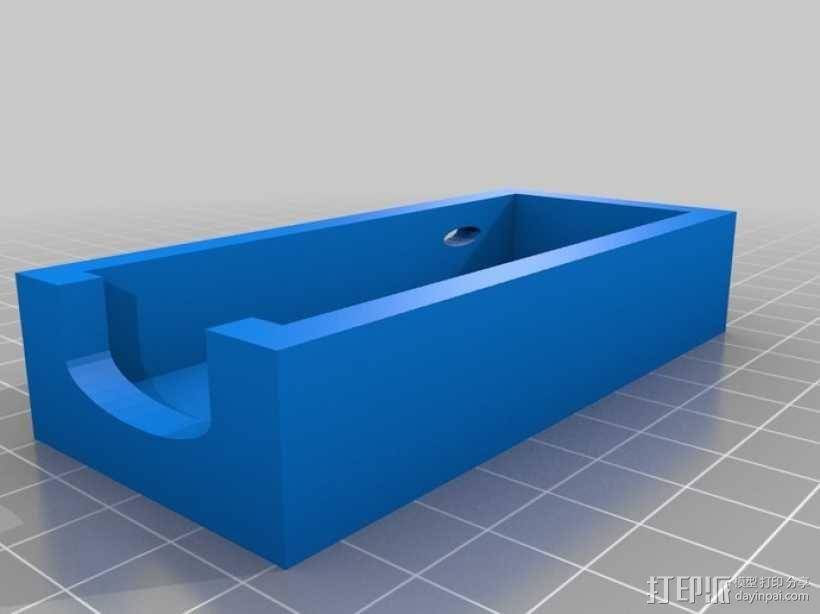 厉动体感控制器保护壳 3D模型  图1
