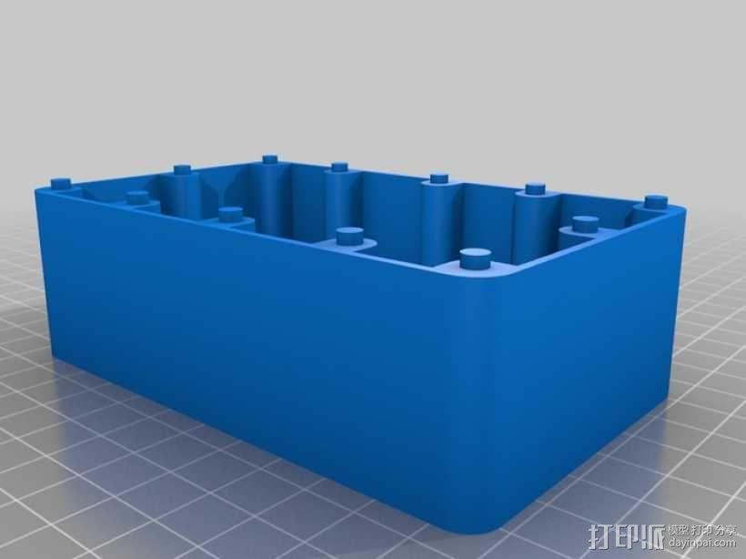 门铃按钮盒 3D模型  图3