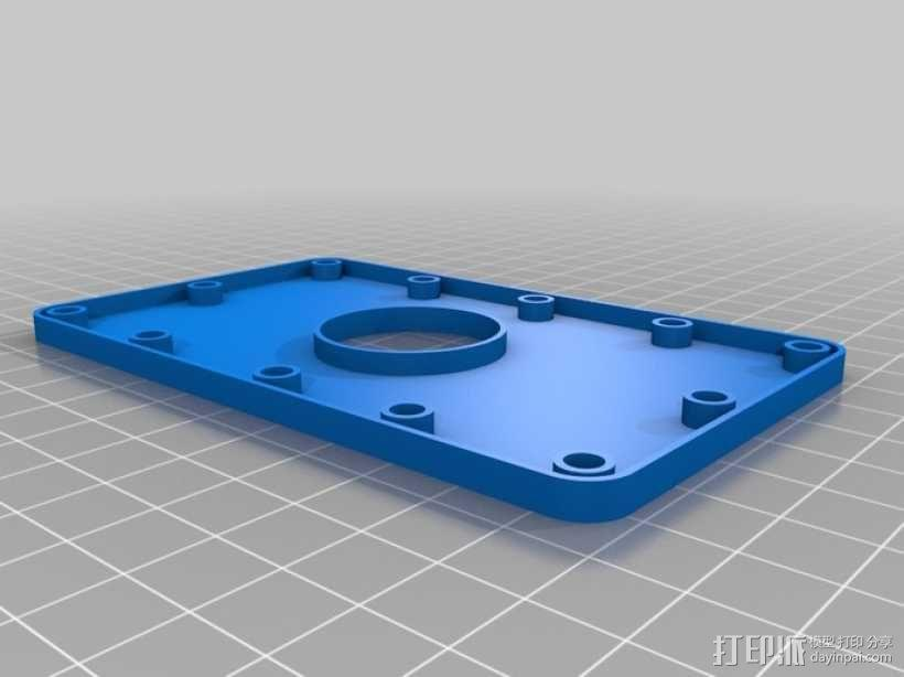 门铃按钮盒 3D模型  图2