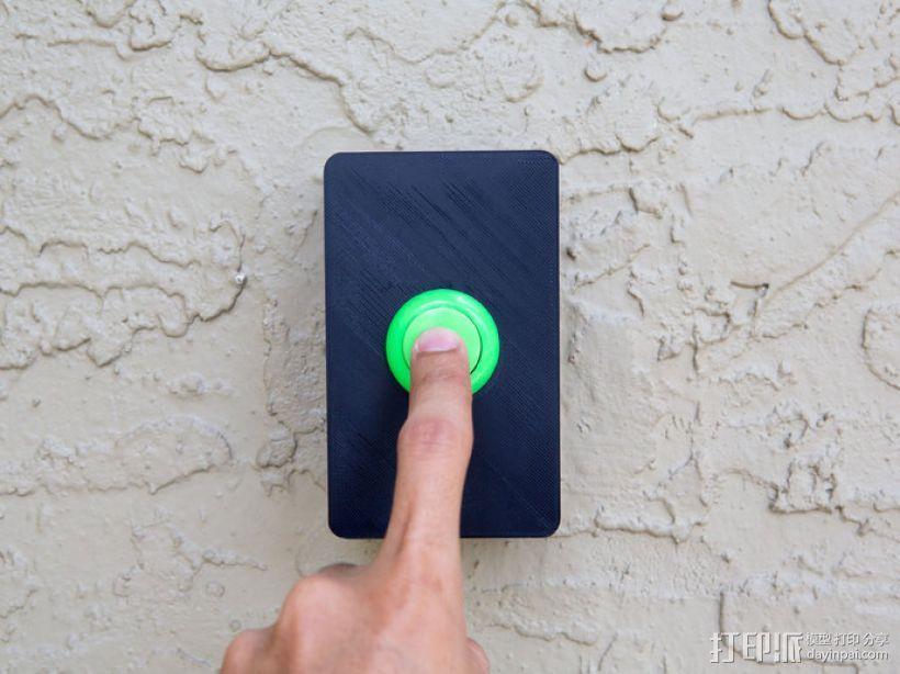门铃按钮盒 3D模型  图1