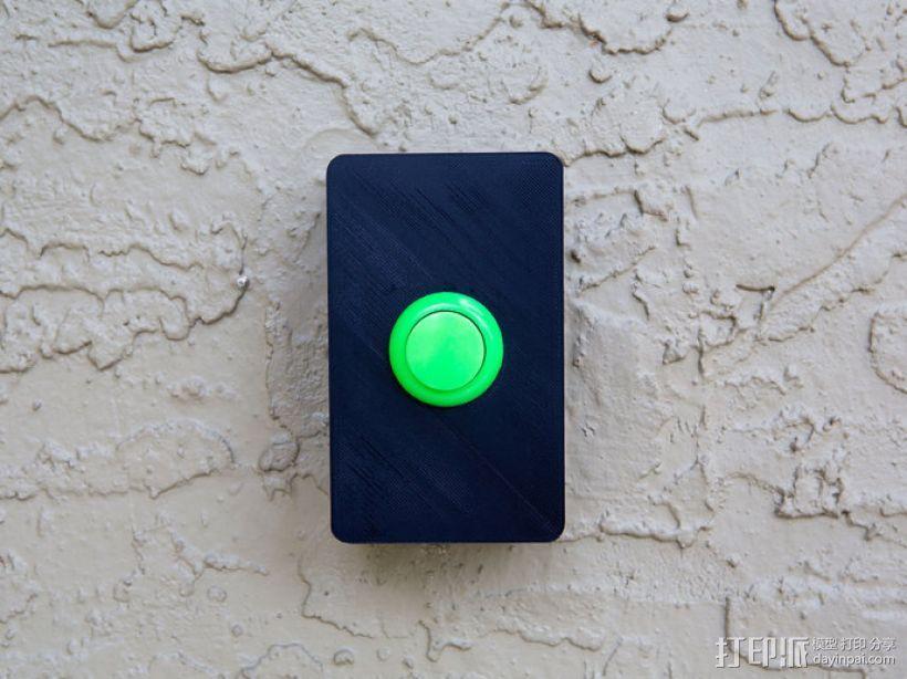 门铃按钮盒 3D模型  图6