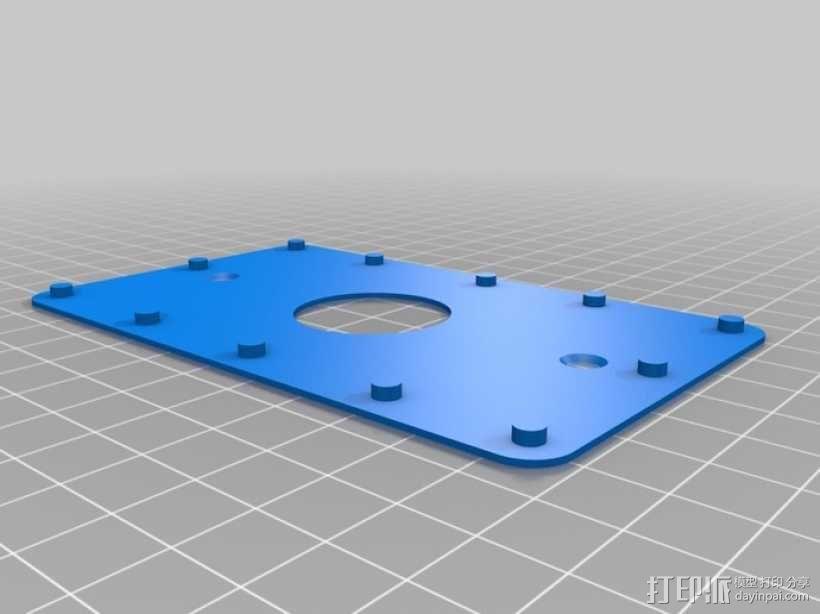 门铃按钮盒 3D模型  图4