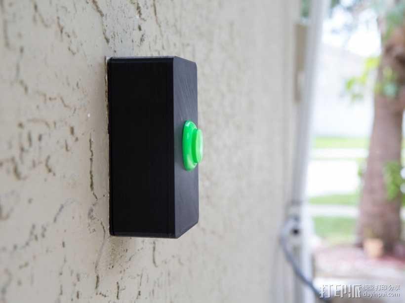 门铃按钮盒 3D模型  图5