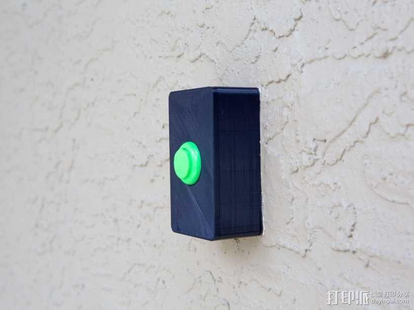 门铃按钮盒 3D模型  图7