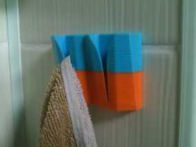 通用型毛巾架 3D模型