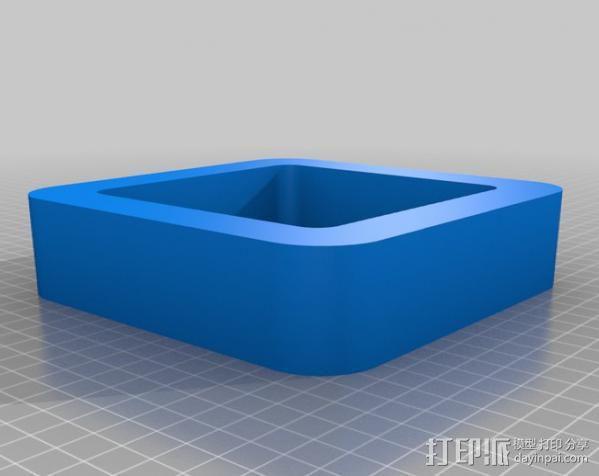 立方体浮架 3D模型  图2