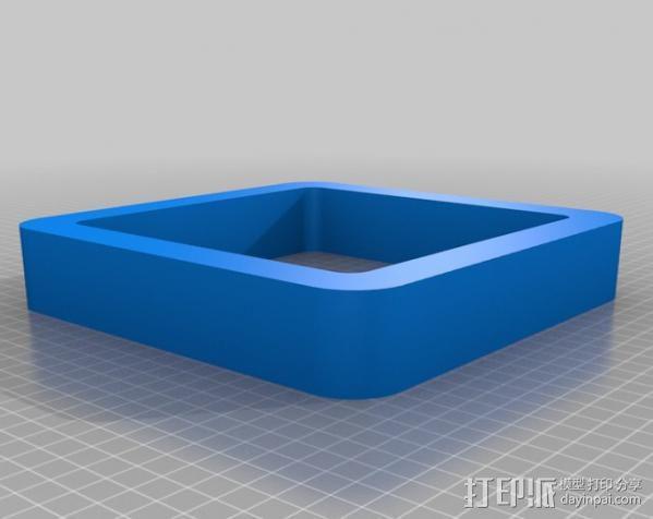 立方体浮架 3D模型  图4