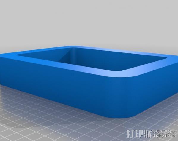 立方体浮架 3D模型  图5