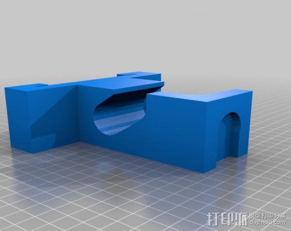 标记物固定夹 3D模型  图4