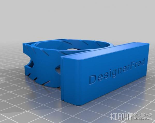 多功能笔架 3D模型  图2
