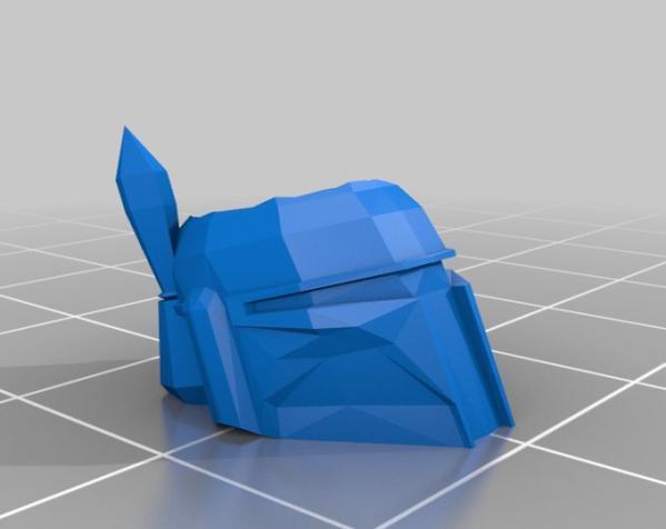 波巴·费特笔筒 3D模型  图1