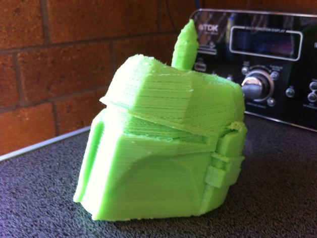 波巴·费特笔筒 3D模型  图3