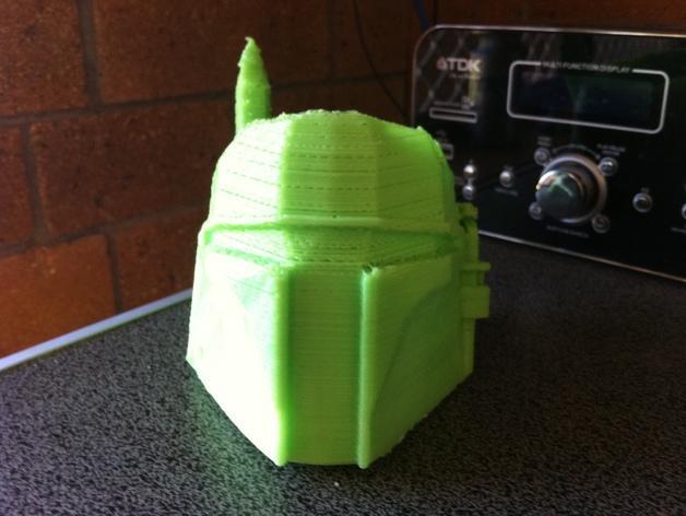 波巴·费特笔筒 3D模型  图2