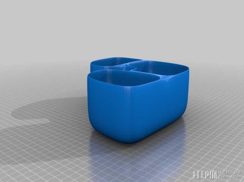 花盆#5 3D模型  图1