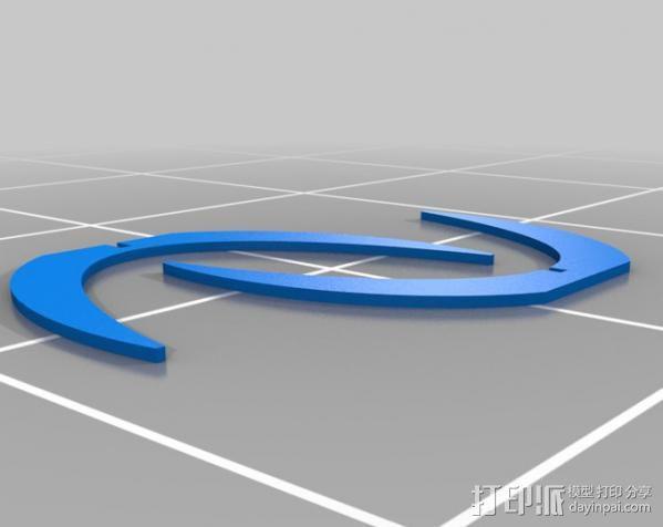 快速支架 3D模型  图2