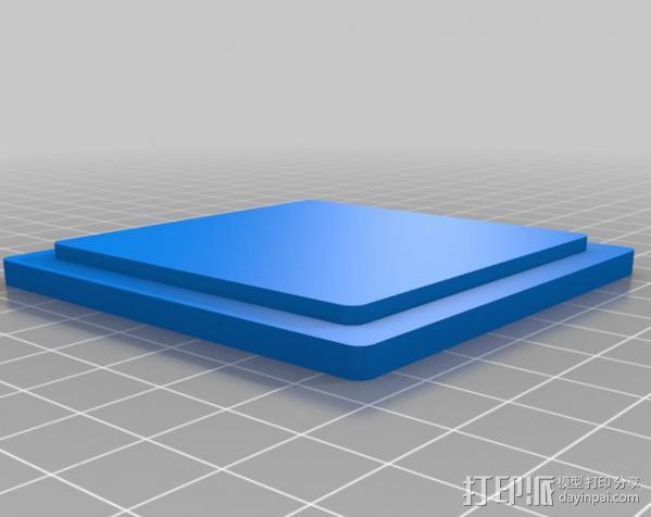 小盒子 3D模型  图2