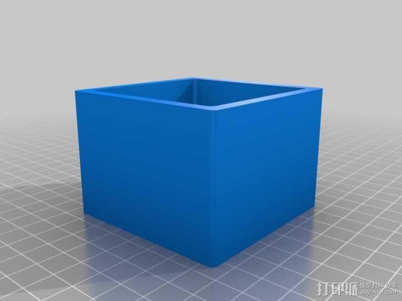 小盒子 3D模型  图1