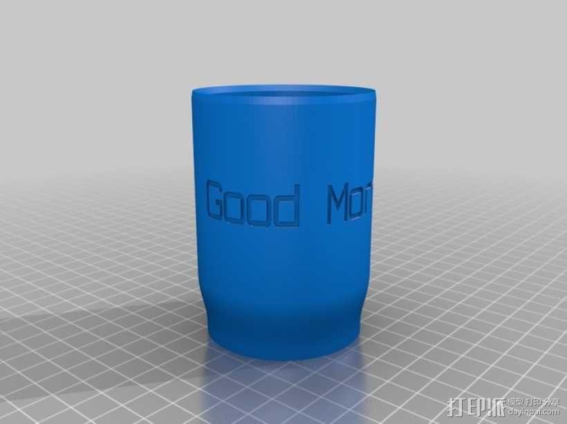 鸡尾酒杯 3D模型  图2