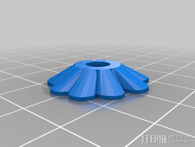 蜂鸟喂水器/喂鸟器 3D模型  图2