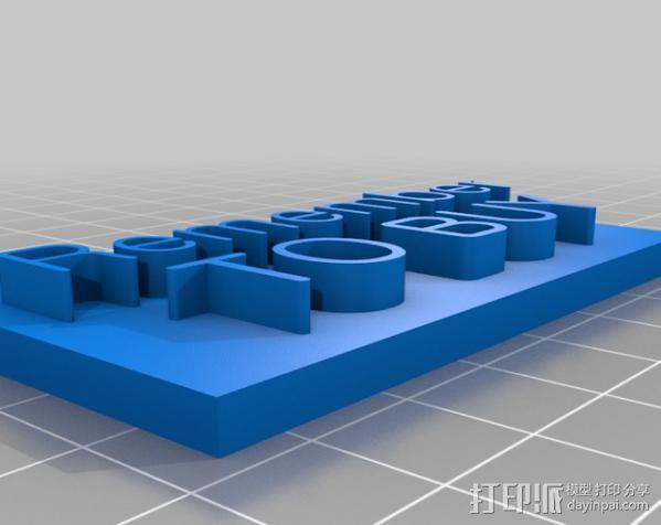 购物清单小助手 3D模型  图2